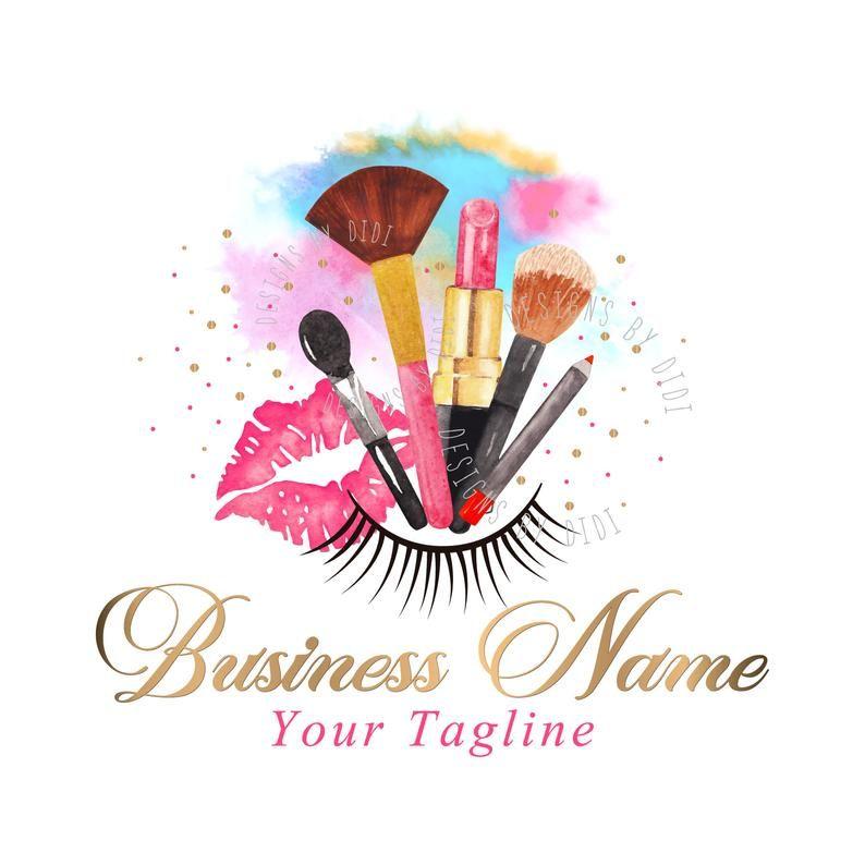 Logo Design Custom Logo Design Logo Beauty Lash Logo Design Cosmetic Makeup Logo Gold Pink Beauty Cosmetics Logo Beauty Makeup Logo Makeup Logo Design Cosmetic Logo Lashes Logo
