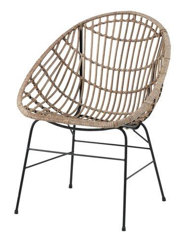 Lounge stolica GJERLEV natur | JYSK i 2020 | Trädgårdsmöbler