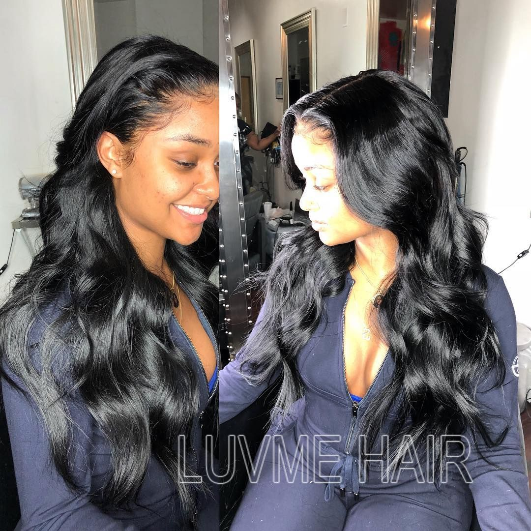 Breathable 360 Lace Wig Pre Plucked Beauty Supply Wigs Hair Waves Hair Styles