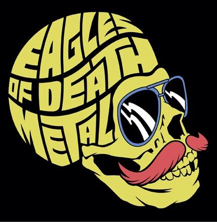 Pin By Tommy Holloran On Art Rock Poster Art Eagles Of Death Metal Death Metal