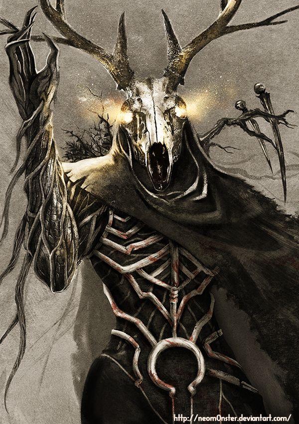 Guardian Of Forest By Neom0nster Deviantart Com On Deviantart Dark Fantasy Art Horror Art Concept Art Characters