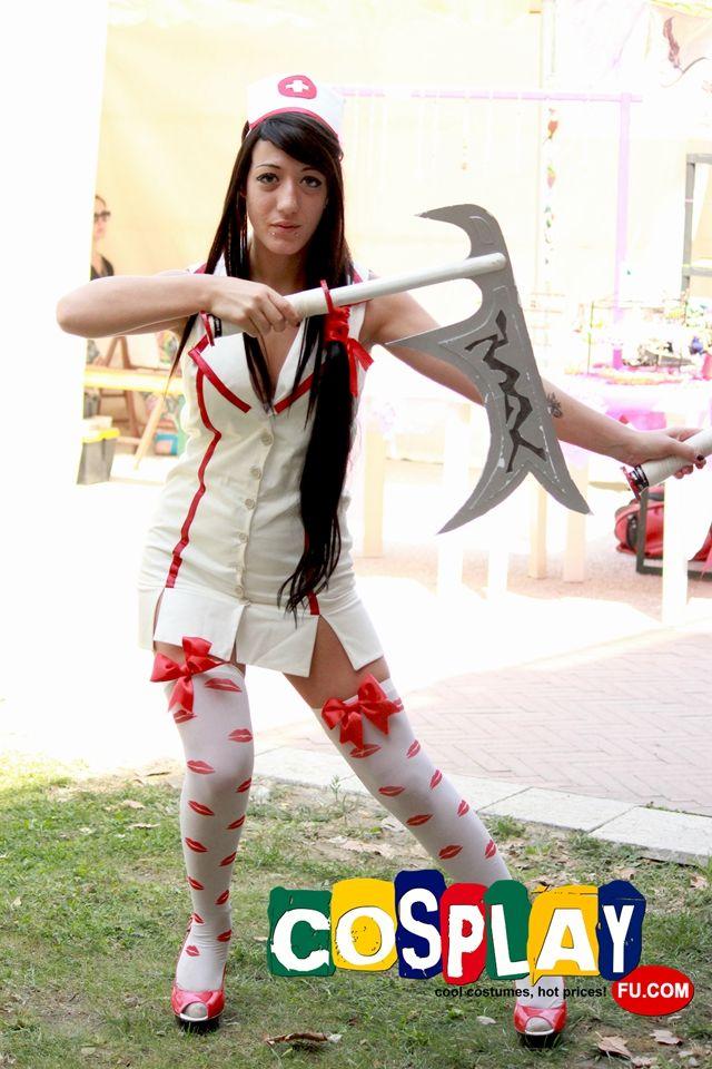 Nurse Akali by Tanitaosaki League Of Legends Cosplay   Art