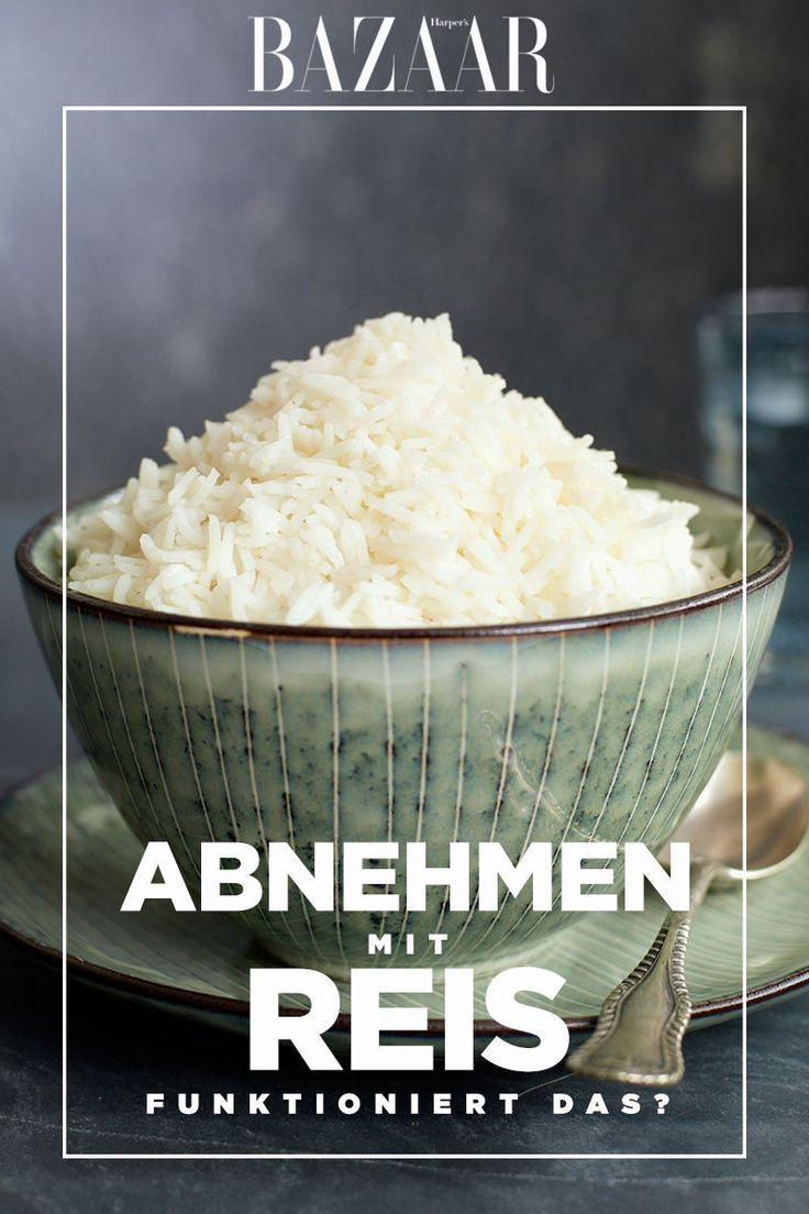 Abnehmen mit der Reis-Diät? Das bringt es wirklich