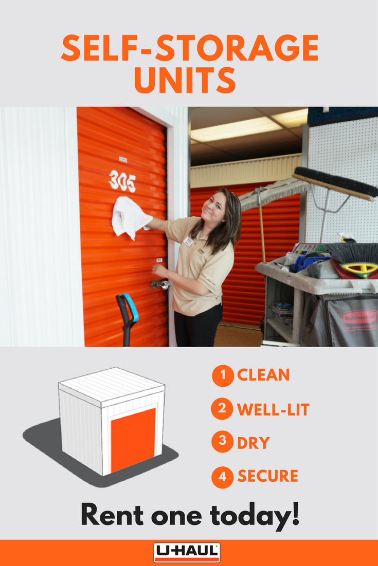 Storage units that come to you