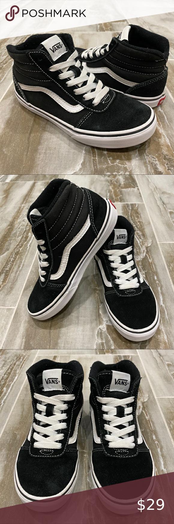 Skate shoes, Vans sk8 hi black