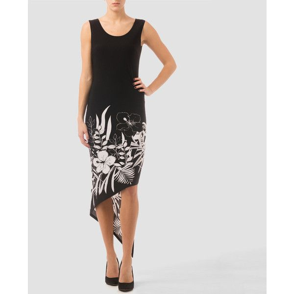 Joseph Ribkoff dress (€170) ❤ liked on Polyvore featuring dresses, joseph ribkoff dresses and joseph ribkoff