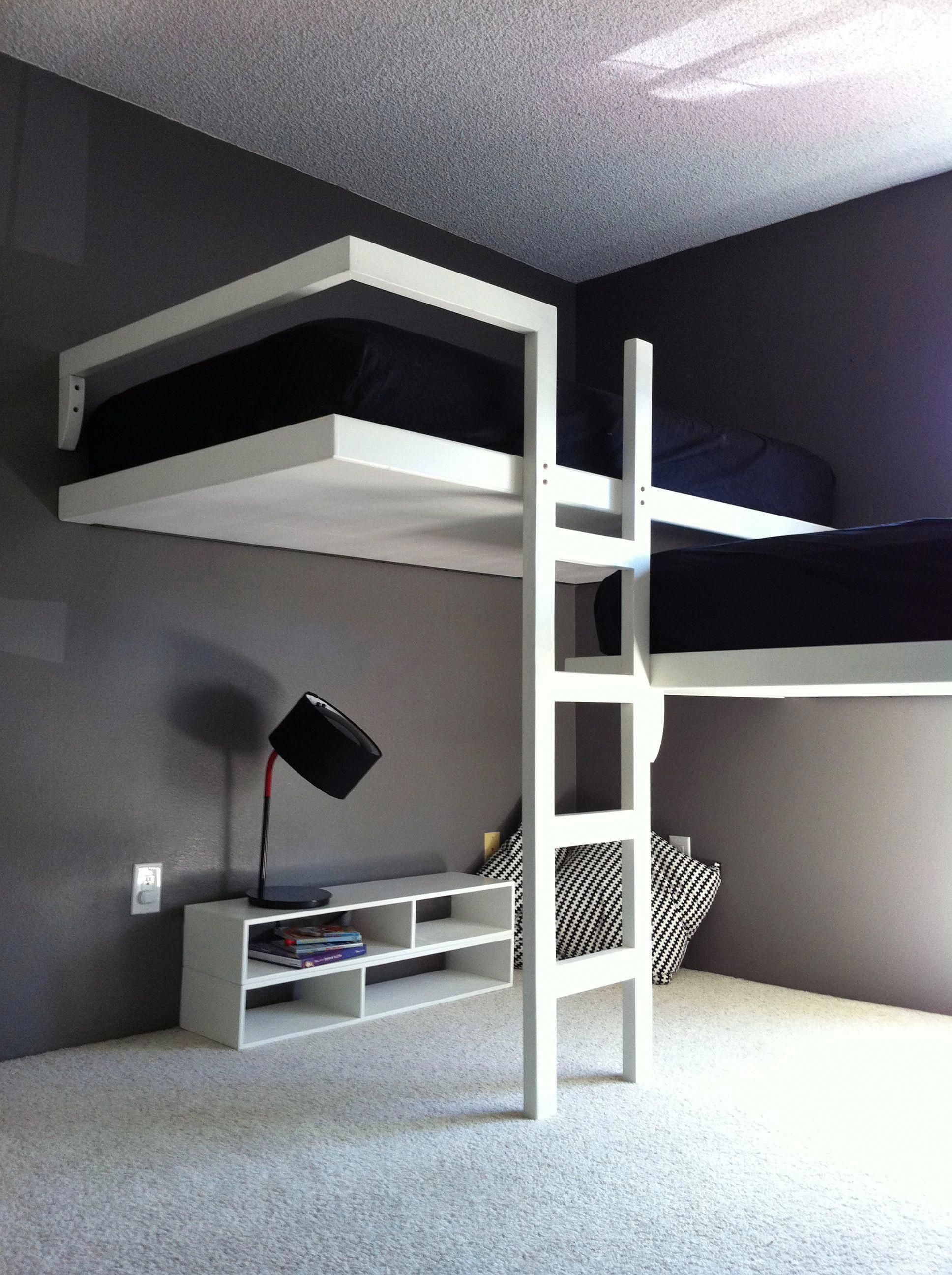 15 Examples Of The Super Cool Loft Bed For Grownups Teenager