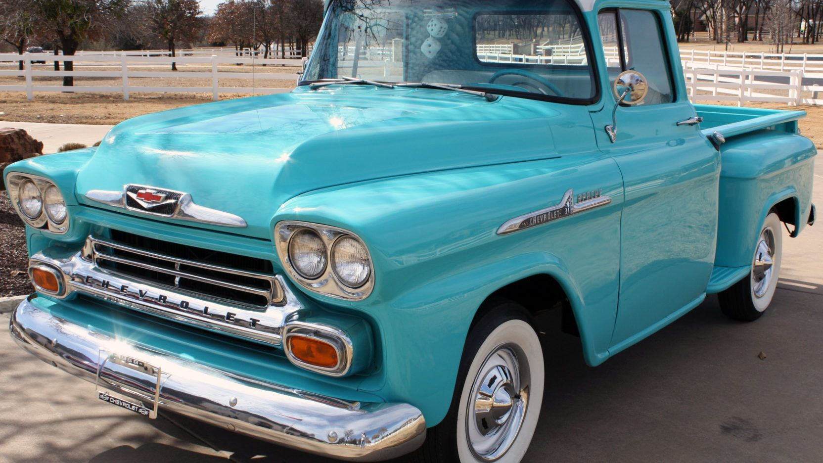 1958 Chevrolet Apache Pickup Presented As Lot F65 At Houston Tx Chevrolet Apache Chevrolet Classic Chevy Trucks