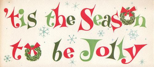 Image result for tis the season to be jolly animated words