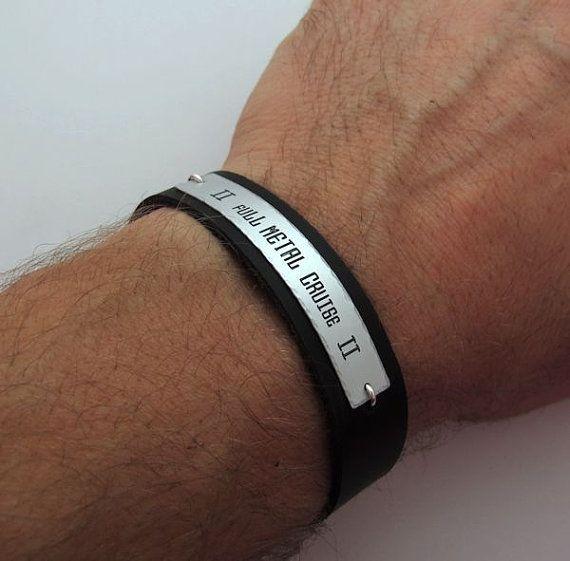 Custom Men Bracelet S Nameplate By Nadinglico