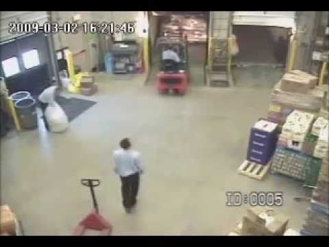 #Forklift Accident: Off the Loading Dock