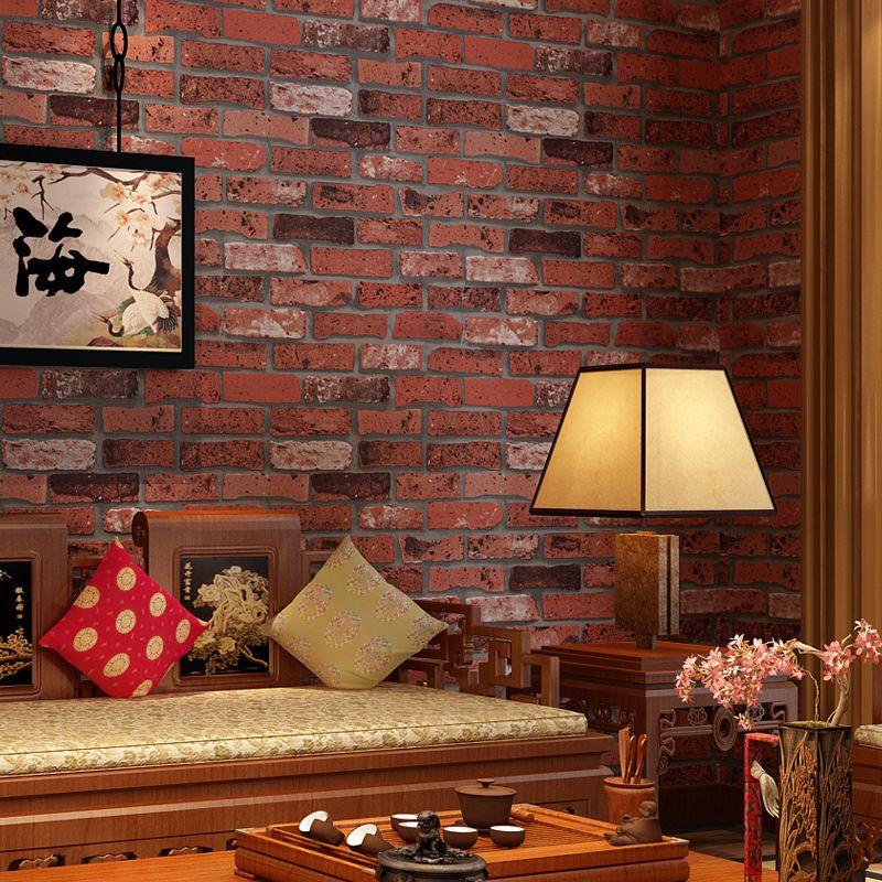 фото комнаты с обоями в виде кирпичей своей странице визажист