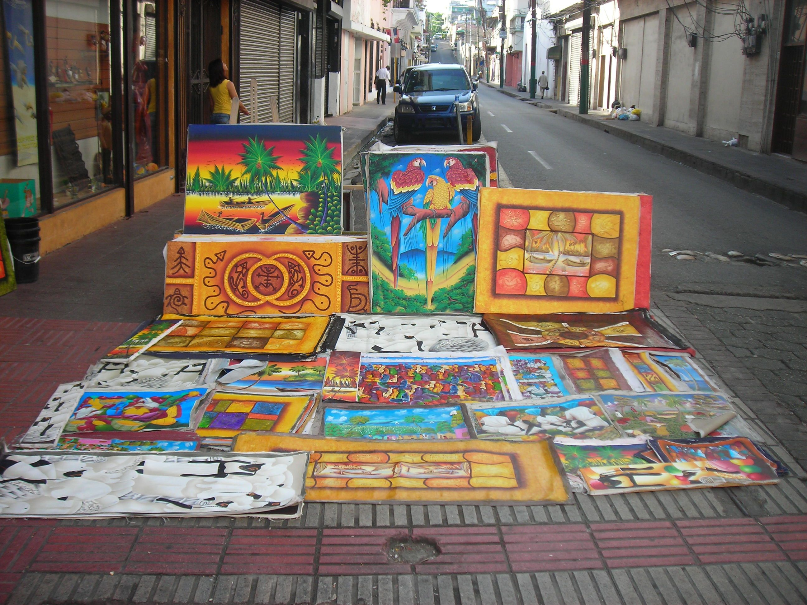 Paintings In Santo Domingo Dominican Republic. Places 've Latin America