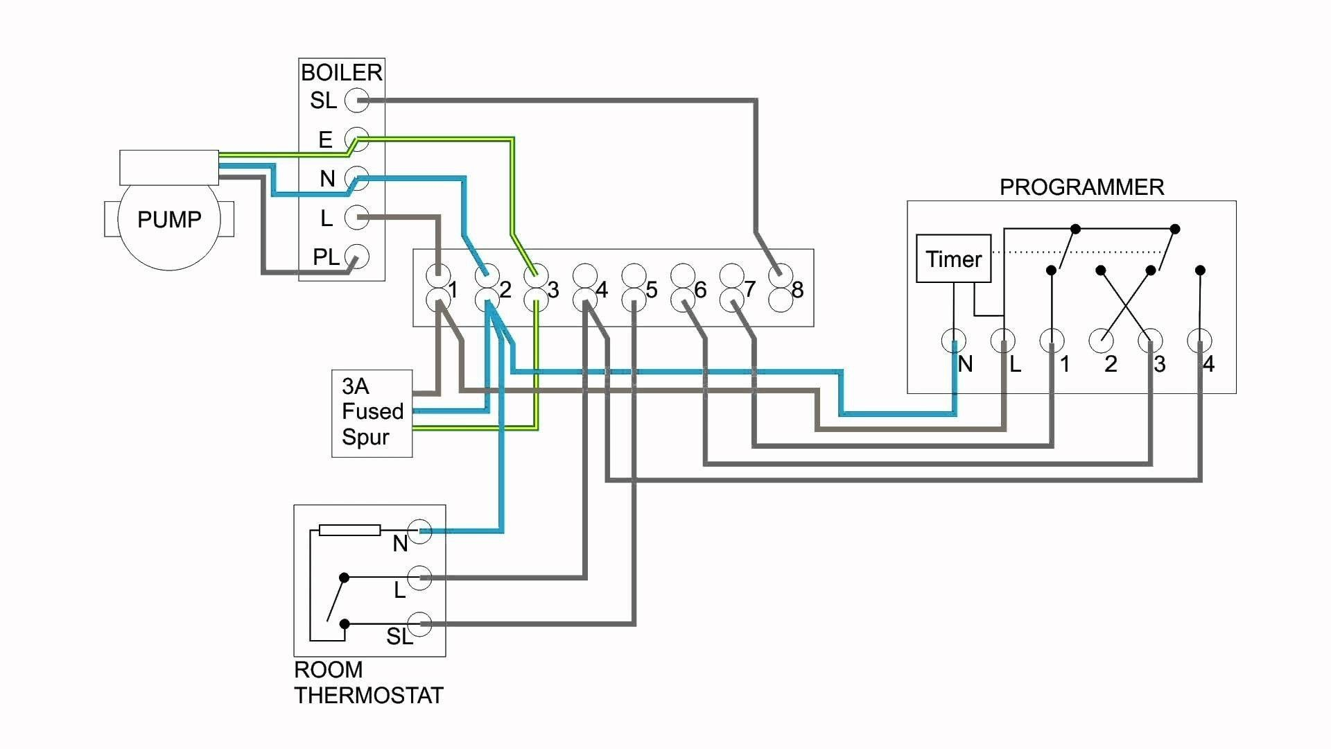 New Wiring Diagram For Sunvic Central Heating Diagram