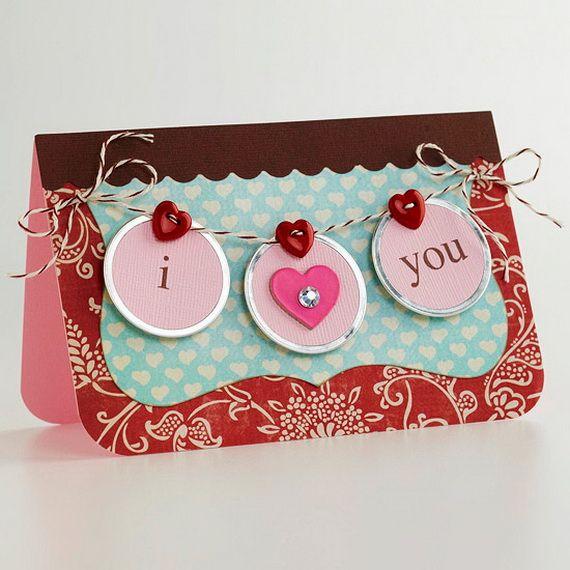 Unique Homemade Valentine Card Design Ideas Valentines Pinterest