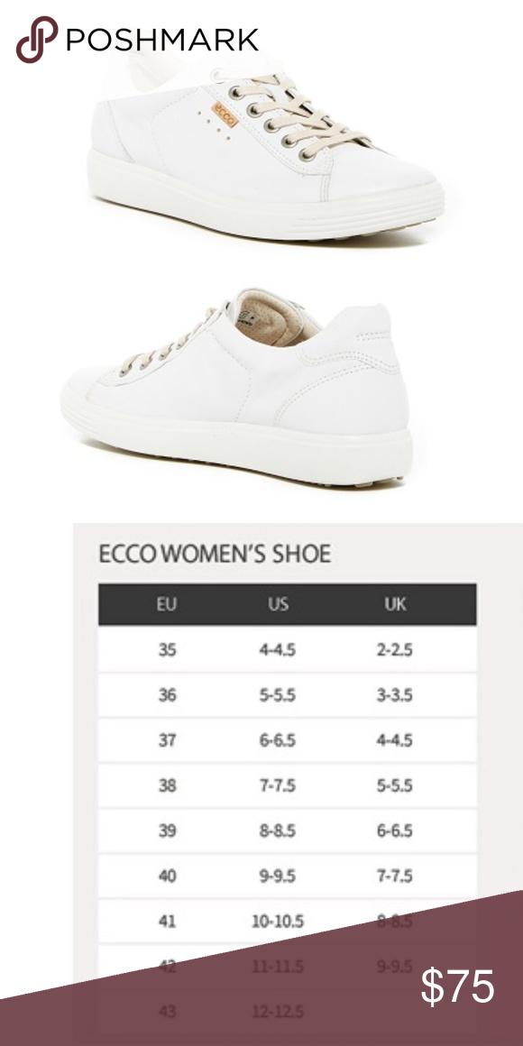 NIB* ECCO Soft 7 Perforated Sneaker