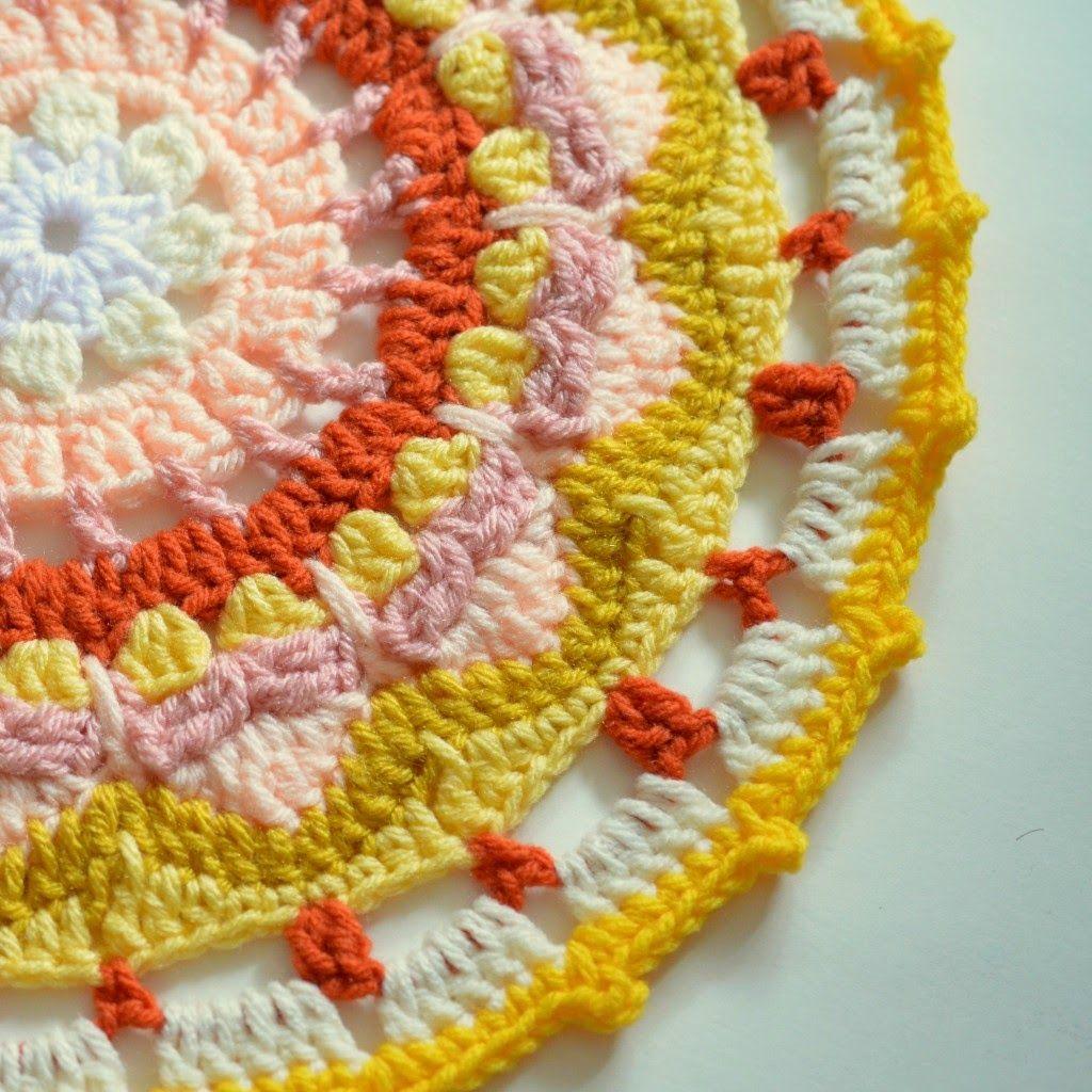 free crochet pattern sun mandala | Crochet | Pinterest | Sol, Feliz ...