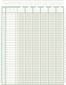 Free Accounting Ledger Paper Budget Binder General