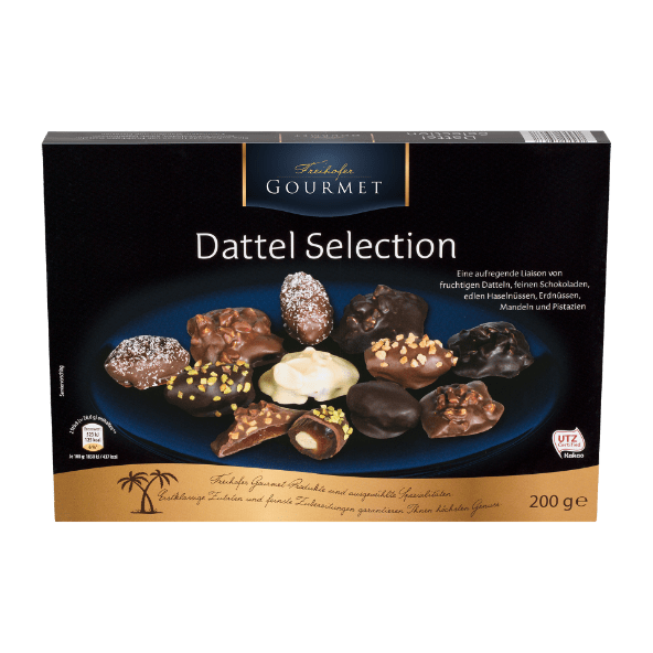 FREIHOFER GOURMET Dattel Selection von ALDI Nord Nourriture  Food