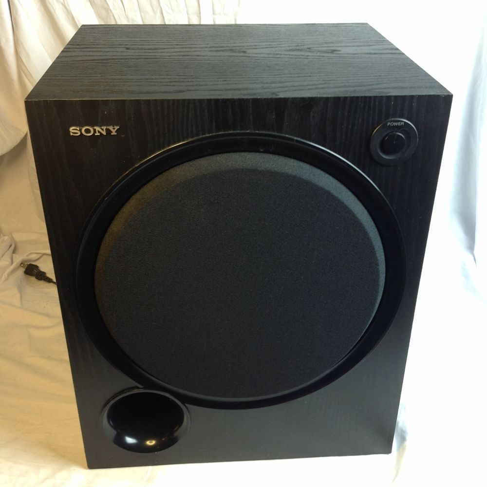 Details about Sony Passive Subwoofer SS-WS500 5 1 Channel Surround