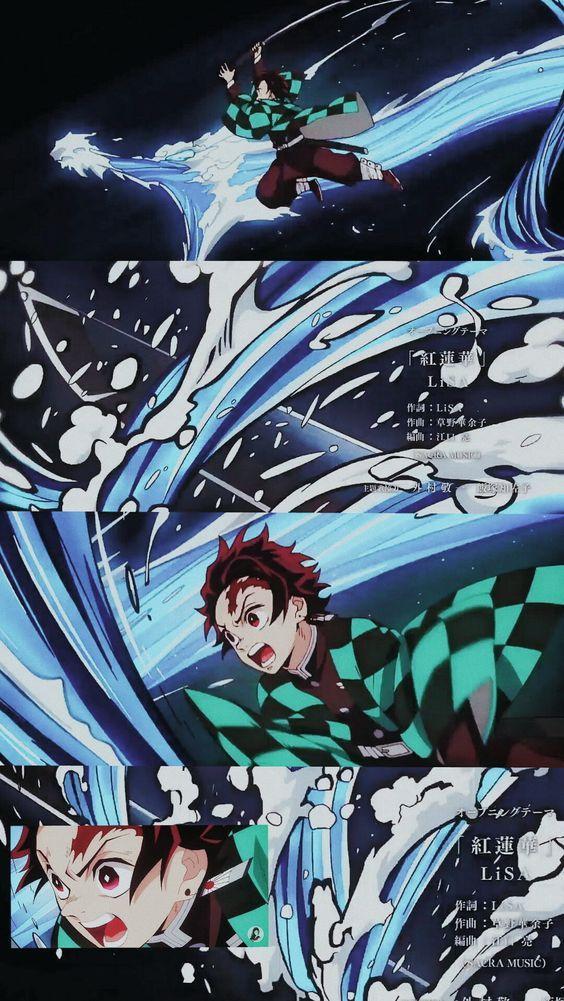 Lockscreen Wallpaper From Kimetsu No Yaiba Demon Slayer Fav Reblog If You Save Anime Demon Aesthetic Anime Anime Wallpaper