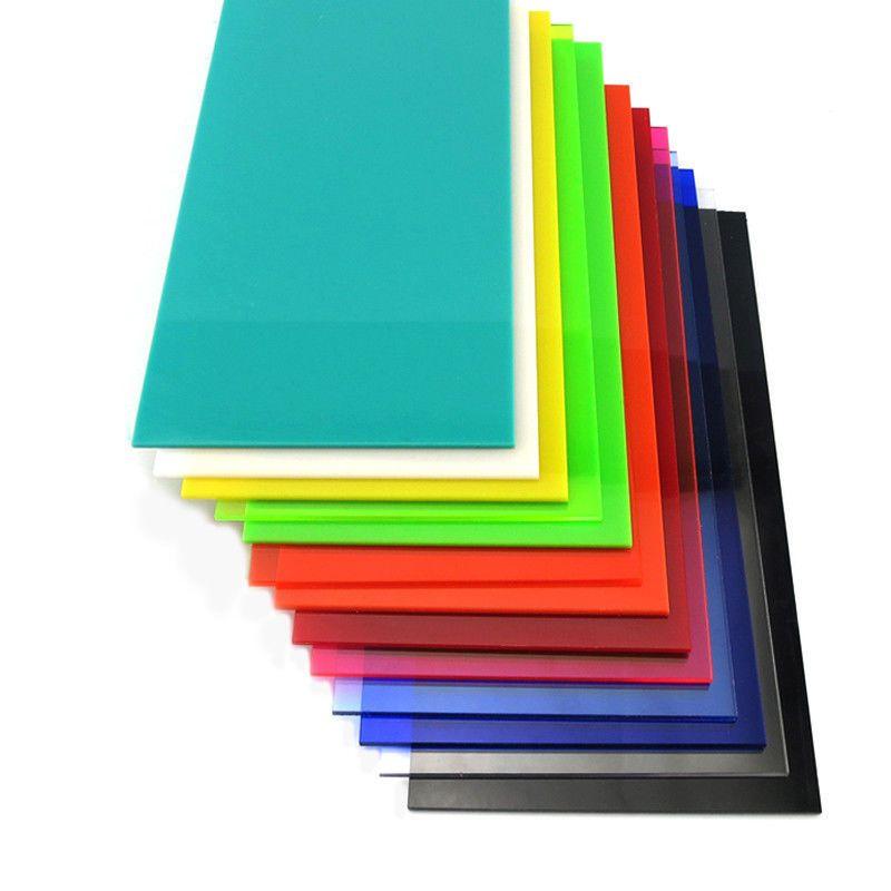 Color Acrylic Sheet Plate Plastic Plexiglass Panel 8x8 10x20 15x15 20x20 30x40cm Plexiglass Panels Colored Acrylic Sheets Acrylic Sheets