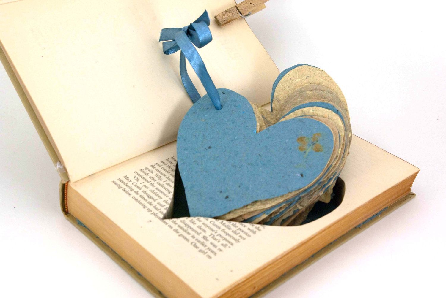 HeartShaped Guest Book by ConduitPress on Etsy