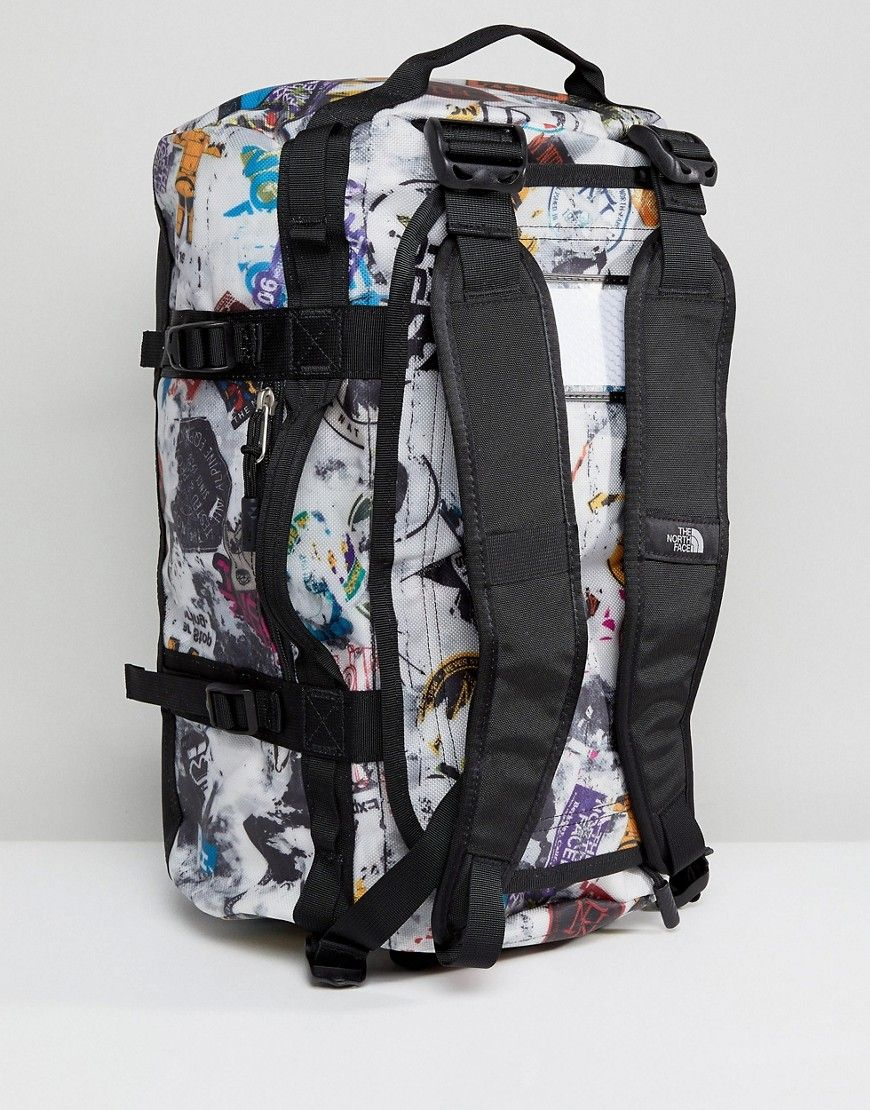 49b0fc2e9 The North Face Base Camp Duffel Bag Extra Small 31 Litres in Sticker ...
