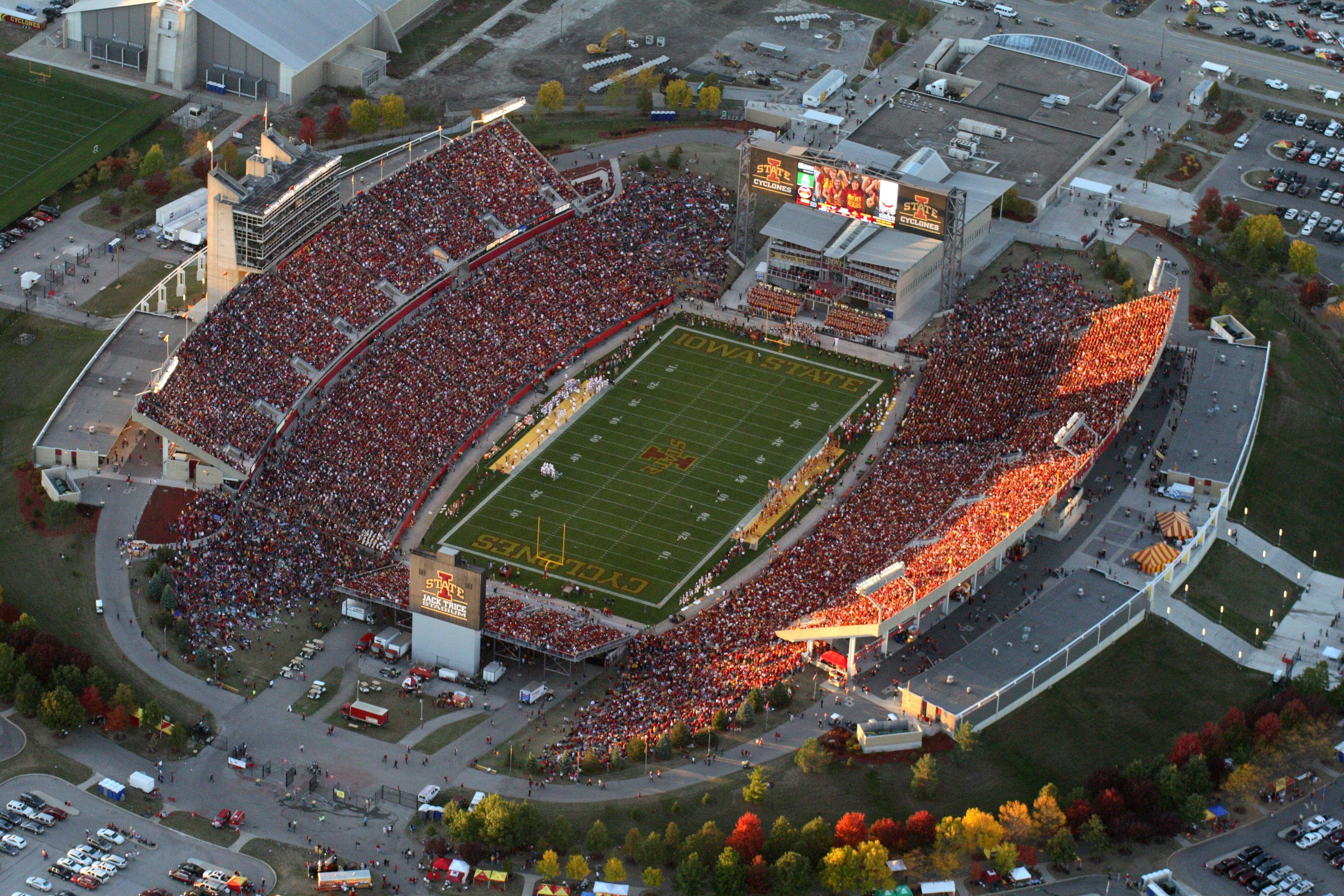 The Best Saturday S Are At Jack Trice Stadium Countdowntokickoff And Cyclonefb Iowa State Football Iowa State Cyclones Football Iowa State