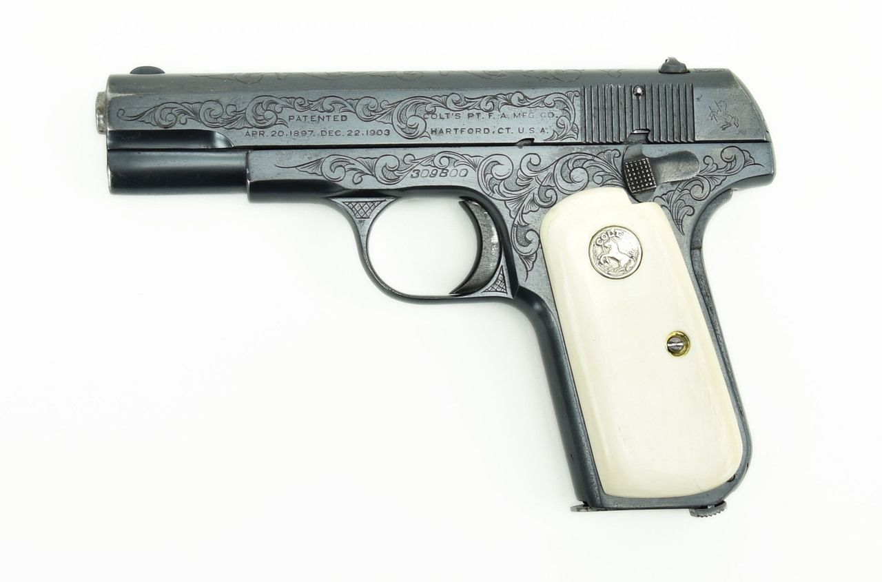 Colt   Caliber Pistol For Sale Loading That Magazine Is A