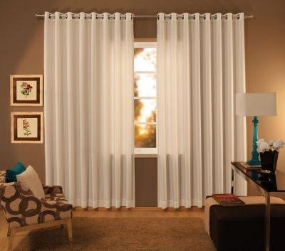 Cortinas para sala 18 modelos simples e modernas house for Modelos de cortinas para salas