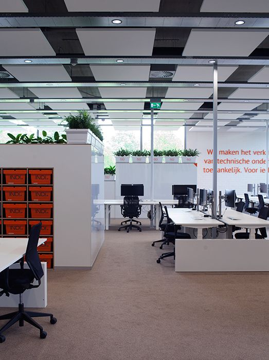 creative office partitions. ©studiomfd, Office, Design, Creative Crates, Working Tables, Partitions Office R
