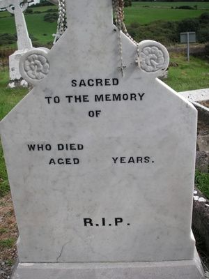 How to Make Concrete Headstones