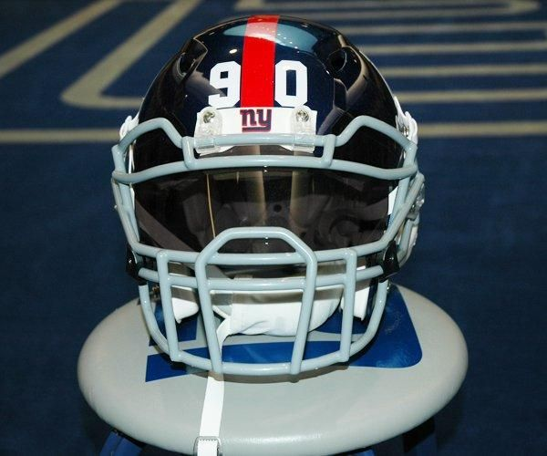 Jason Pierre Paul Jpp Unique Player Facemask Nyg Nfl New York