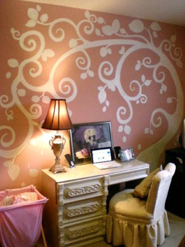 lovely wall treatment