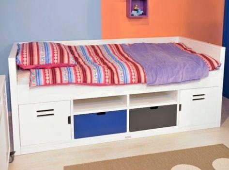 bed uit de locker collectie van bopita meubels voor de