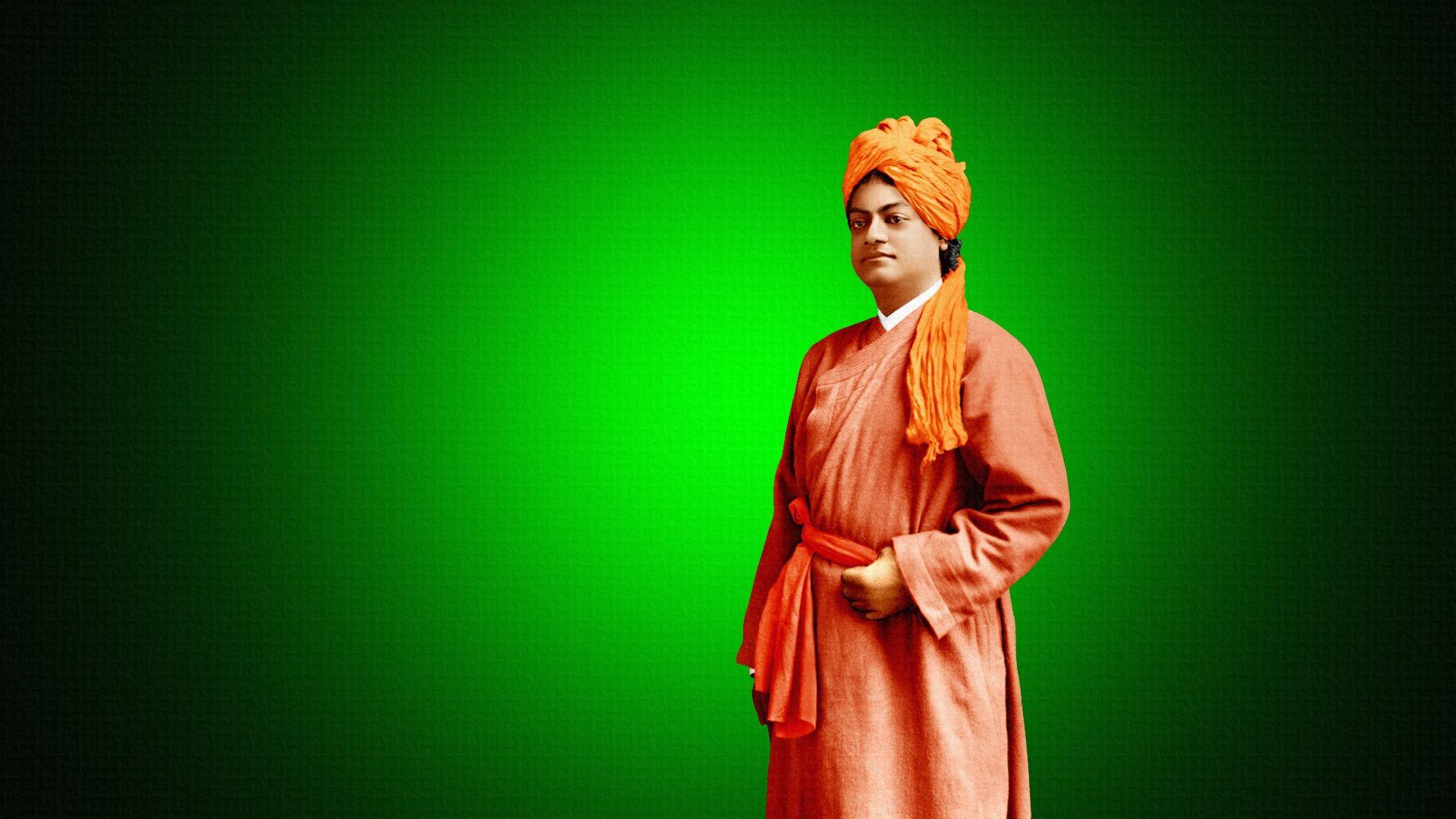 Vivekananda Reddy Hd: Swami Vivekananda HD Wallpaper