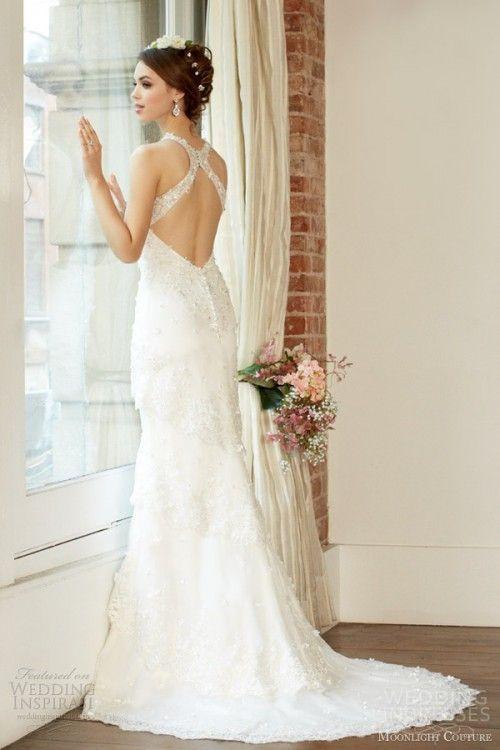 Criss Cross Back Wedding Dresses 2014 Trends | Wedding | Pinterest ...