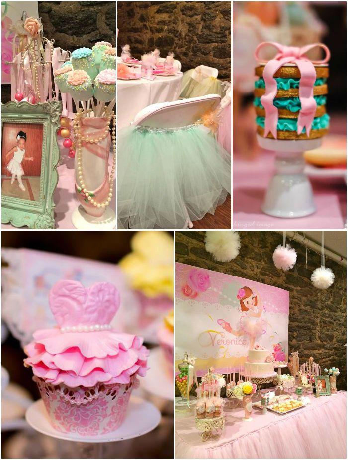 Sweet Ballerina Party Ideas Supplies Decorations Ballerina Birthday Parties Ballerina Party Birthday Parties