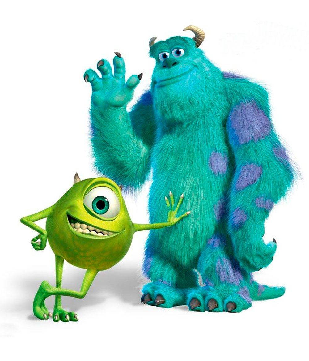 Uncategorized Sulley Mike And Boo camiseta monstruos s a mike y sulley monsters disney sulley