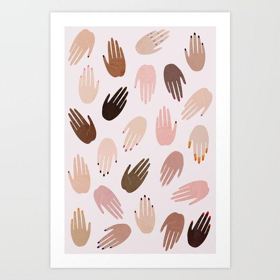 GRRRL Art Print