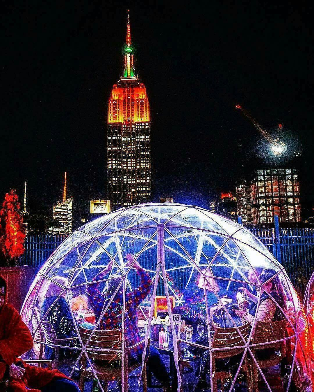 The Rooftop Igloos At 230 Fifth Are Now Open Go Visit This Winter