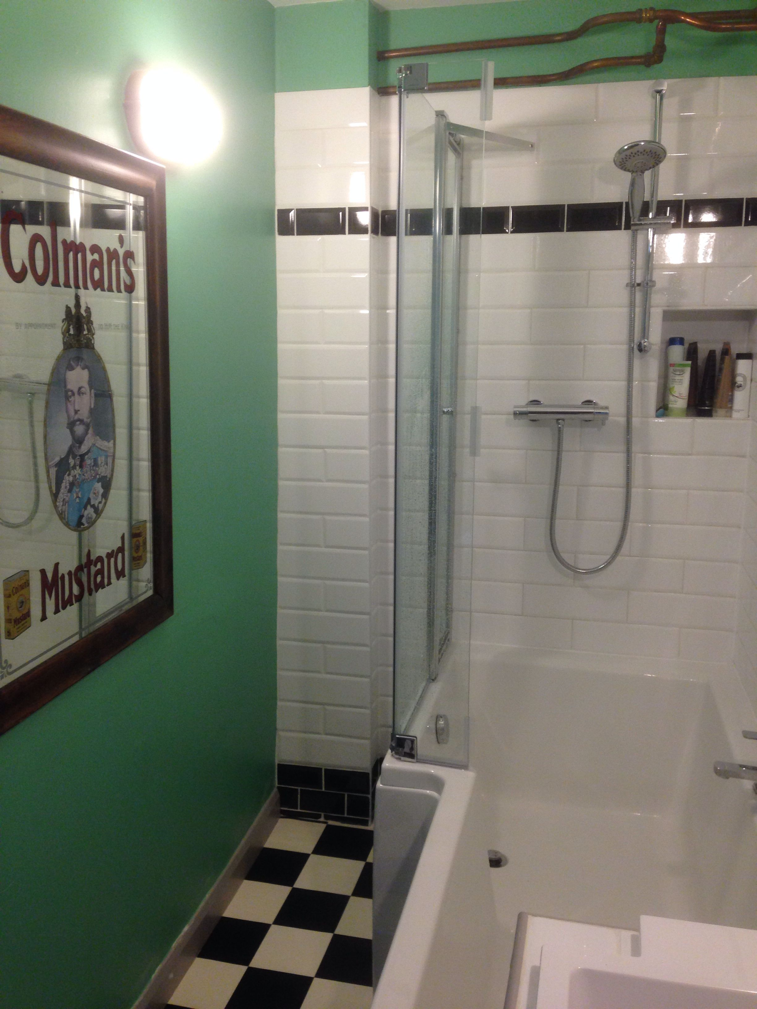 Best Bathroom After Loving The Farrow And Ball Arsenic Walls 400 x 300