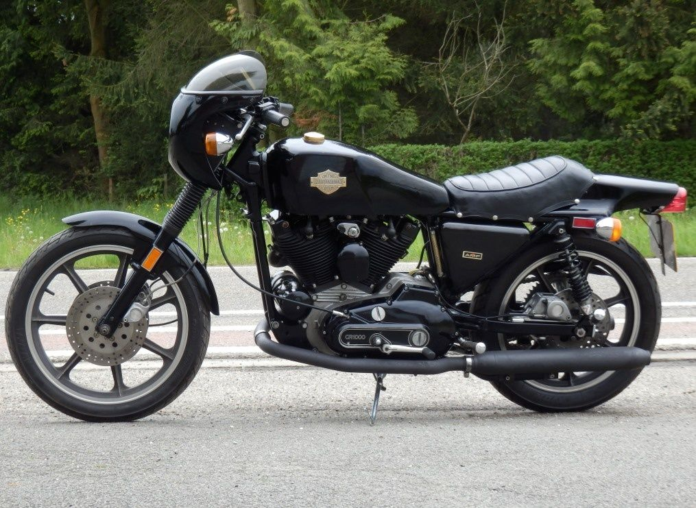 1977 Harley Davidson Sportster Xlcr Cafe Racer Motorcycle Pictures