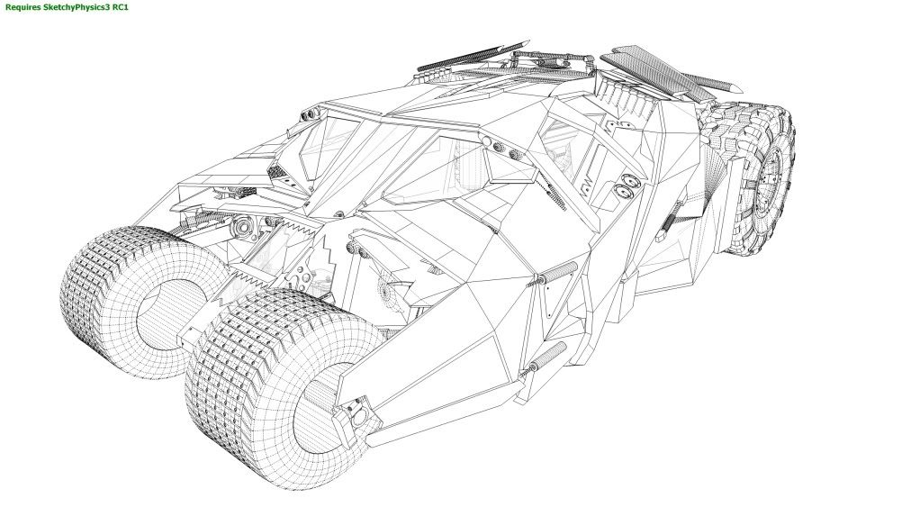 Batmobile Coloring Pages   wwwchickslovethecar board - copy dark knight batman coloring pages