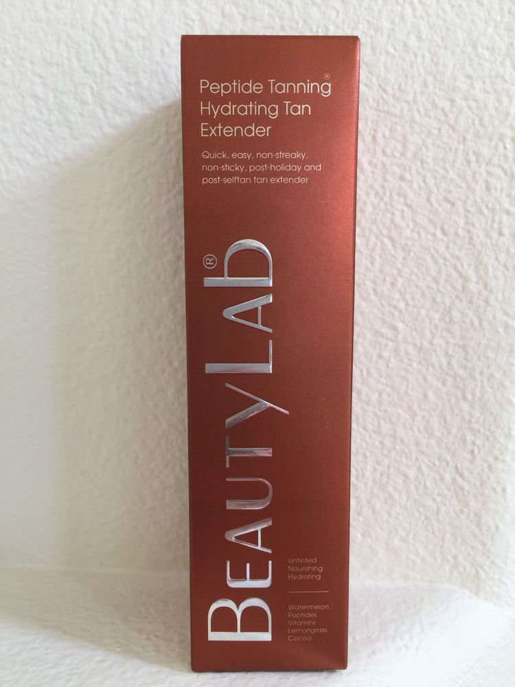 Authentic new beautylab london peptide tanning hydrating