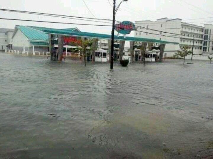Image result for pics of rio grande avenue wildwood nj flooding