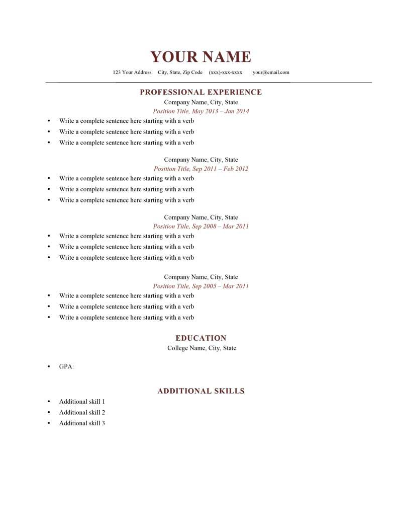 Additional Skills For Resume Fascinating And Examples  Free Resume Samples