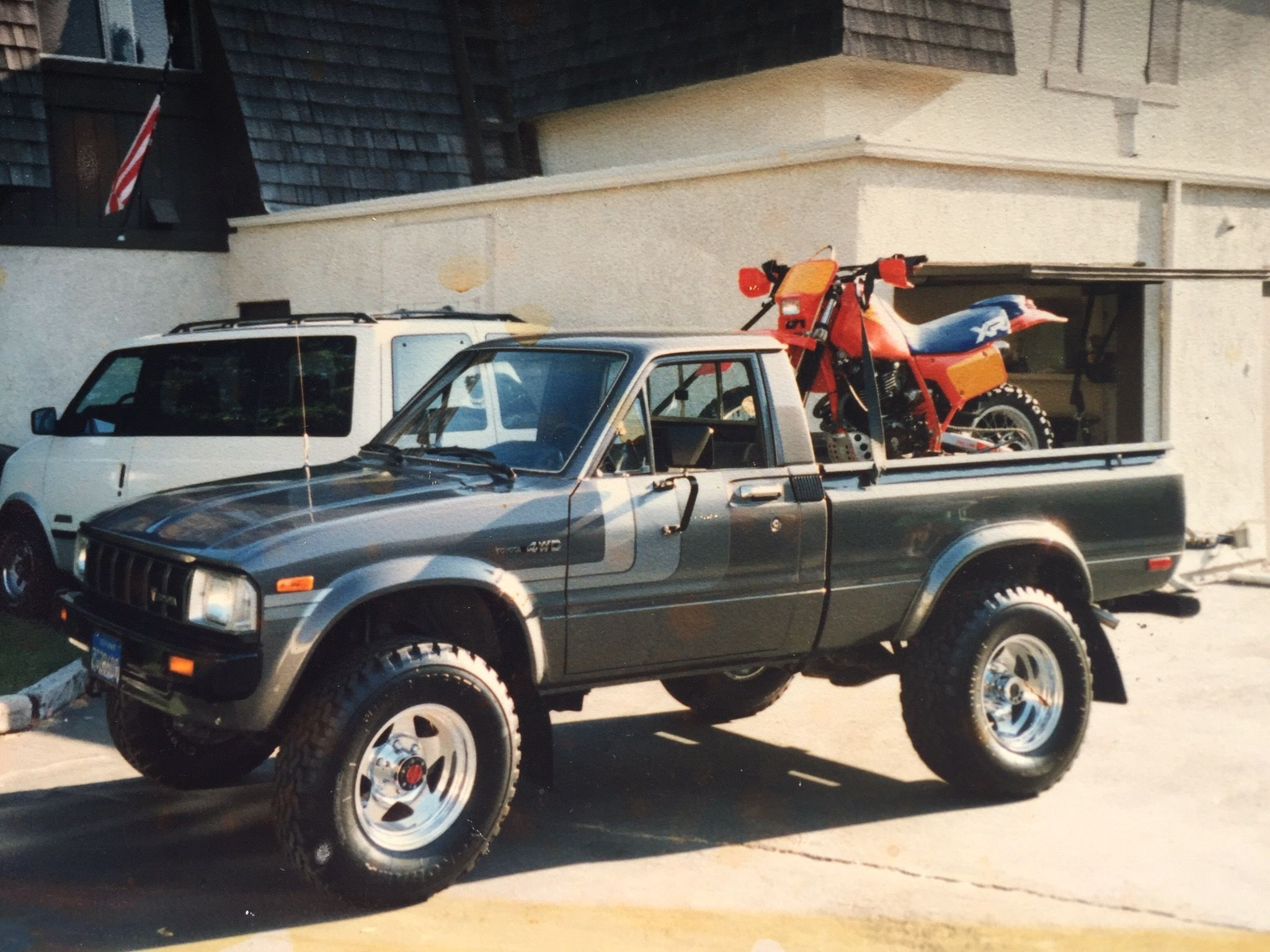 small resolution of 1983 toyota truck 4x4 extra value package