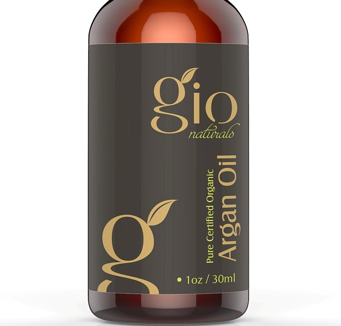 Gio Naturals Certified Organic Cold Pressed Virgin Moroccan Argan